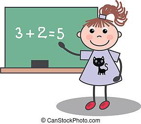 Chica de escuela