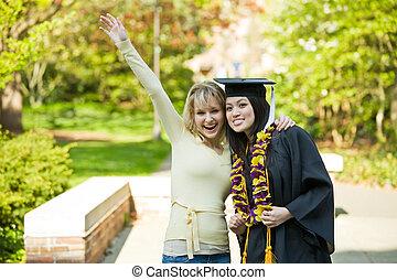Chica de graduación