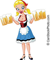 Chica del Oktoberfest