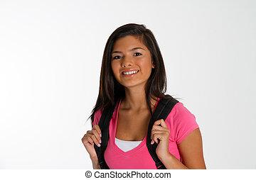 Chica en la escuela