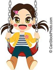 Chica en swing