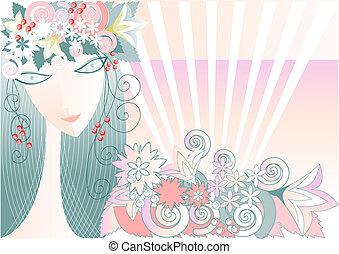 Chica - primavera