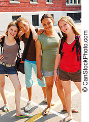 Chicas de la escuela
