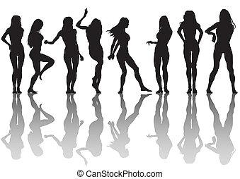 Chicas delgadas