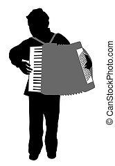 Chico acordeonista