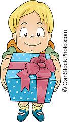 Chico de regalo