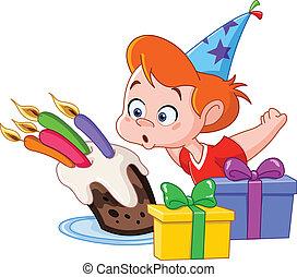 Chico del cumpleaños