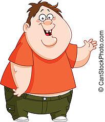 Chico gordo