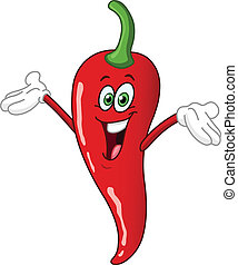 Chili Pepper dibujos animados