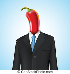 Chili Pepper man