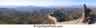 China gran muro de porcelana