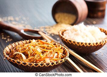 chino de comida