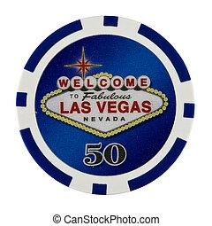 Chip de póquer casino