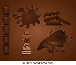 chocolate, delicioso