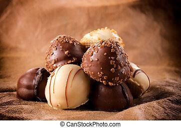 chocolate, dulce