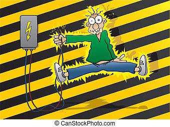 choque, eléctrico