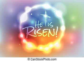 Christian Easter se levantó ilustrando