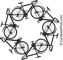 ciclismo, alrededor
