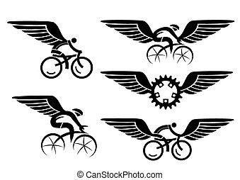 Ciclo con alas