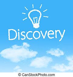 cielo azul, diseño, plano de fondo, icono, nube, descubrimiento