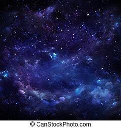cielo estrellado, hermoso