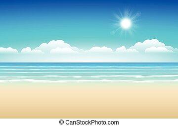 Cielo marino de arena