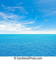cielo, océano