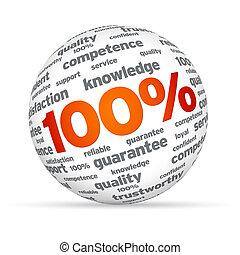 Cien por cien esfera de negocios