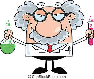 Científico loco o profesor