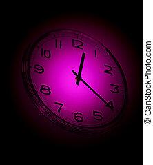 Cierra la vista del viejo reloj