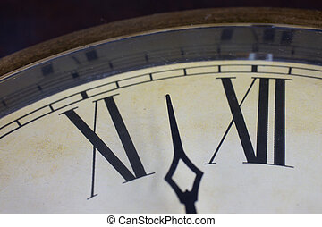 Cierra la vista en el reloj