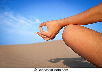 cierre, meditación, arriba