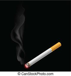cigarrillo, abrasador