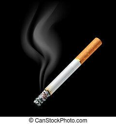 cigarrillo, el smoldering