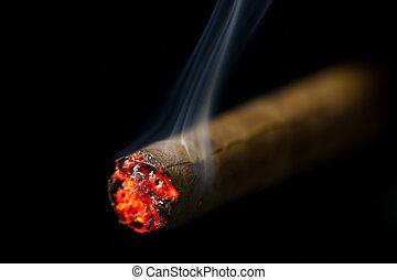 cigarro, abrasador