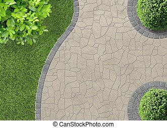 cima, gardendetail, vista