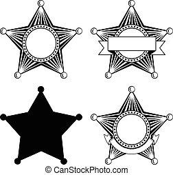 Cinco sheriffs con puntería