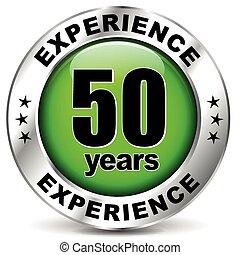 cincuenta, experiencia, años