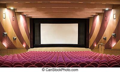 cine, auditorio