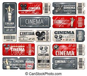 Cine, cine retro entradas vintage