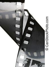 Cinta de cine blanco y negro