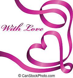 Cinta de decoración rosa