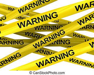 Cintas de advertencia