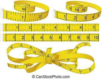 cintas que miden