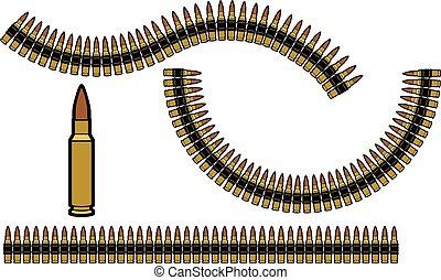Cinturón de bala.