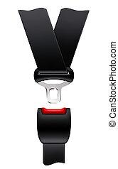 Cinturón de seguridad, vector