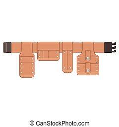 Cinturón para herramientas de cuero