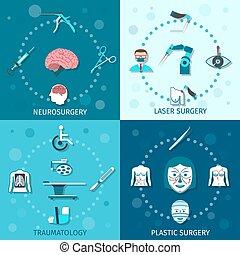 Cirugía médica preparada