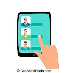 Cita con el doctor en línea
