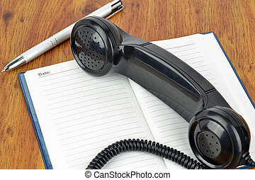 cita, teléfono
